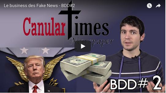 Se faire de l'argent avec les fake news