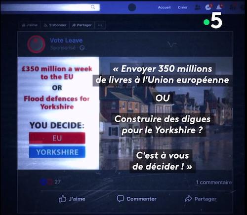 Brexit : référendum, mensonges et réseaux sociaux (vidéo)
