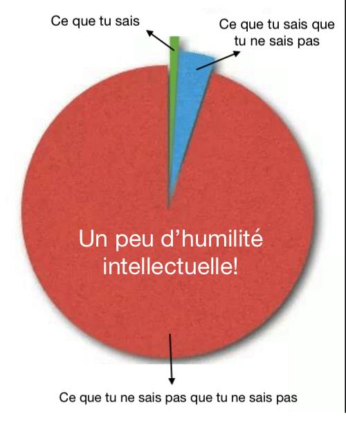 L'effet Dunning-Kruger : un peu d'humilité intellectuelle!